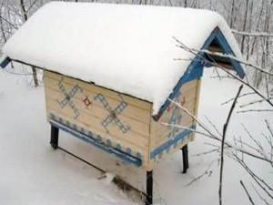 Метод холодной зимовки пчел