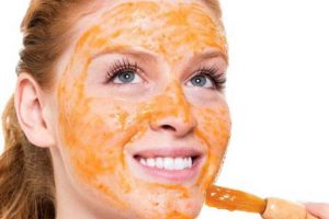Мед вместо крема для лица