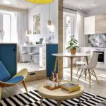 Расставляем правильные акценты в дизайне двухкомнатной квартиры