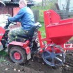 Как подобрать мини-трактор для выращивания картофеля