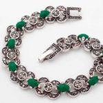 Серебряные браслеты и украшения с камнями – как ухаживать за ними