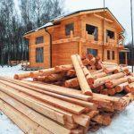 Строительство дома: зимой или летом?
