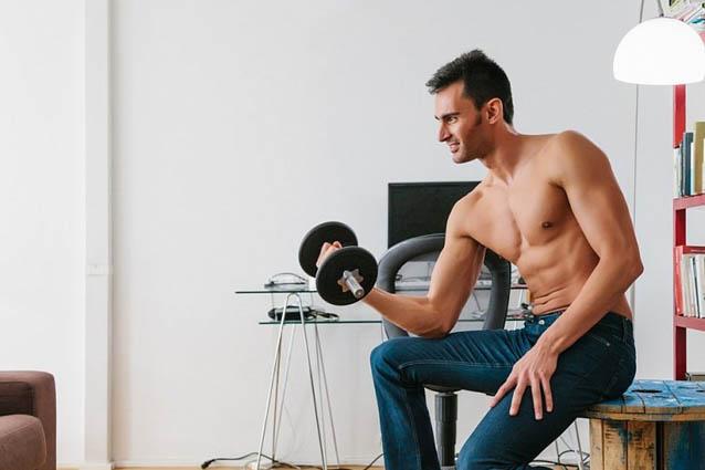 Упражнения с инвентарем на силу