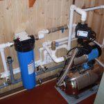 Организация водоснабжения загородного дома