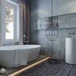Актуальные идеи интерьера ванной комнаты 2018