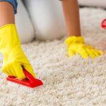 Как почистить светлый ковер в домашних условиях